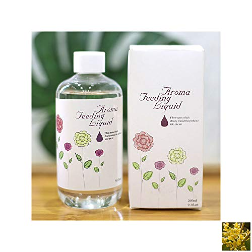 TRENTA 260ml Raumdiffusor Refill Reed Diffuse Parfüm ätherisches Parfüm zu Hause Badezimmer Dekoration Parfüm 7 Düfte -