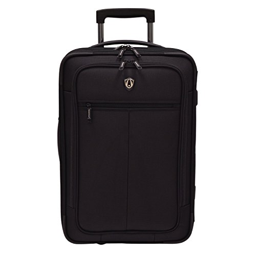 travelers-choice-siena-2-in-1-hybrid-hard-shell-carry-on-wheeled-garment-suitcaseblackone-size