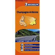 Michelin Champagne-Ardenne: 515 Regional France