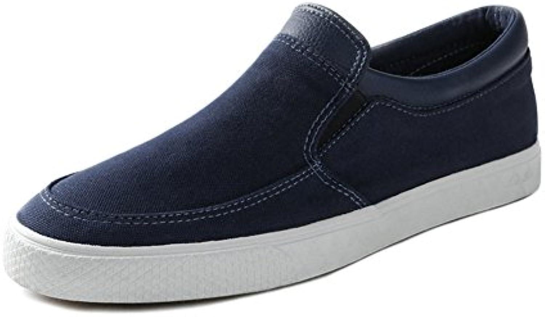 Unbekannt YIXINY Schuhe 118437623 Frühlingsmode Neue Koreanische Atmungsaktive Casual Herrenschuhe (Farbe : Blau