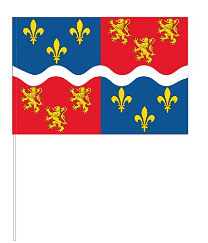 Eurodrapeau Drapeau Somme, Polyester, Quadri, 120 x 80 x 5 cm
