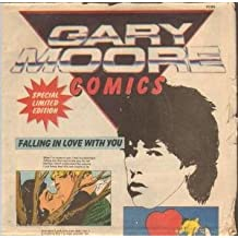 "FALLING IN LOVE WITH YOU 7"" (45) UK VIRGIN 1982 LIMITED COMIC POSTER SLEEVE B/W INSTRUMENTAL (VS564)"