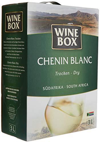 Wine Box Chenin Blanc Südafrika trocken Bag-in-Box (1 x 3 l) - Trocken-shop Vakuum