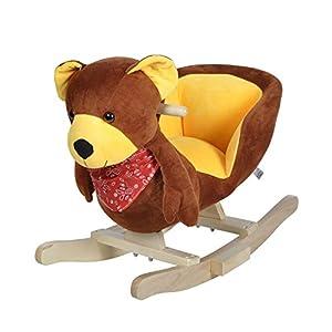 Knorrtoys 40482 - Mecedora de Animales con Sonido Teddy Emil