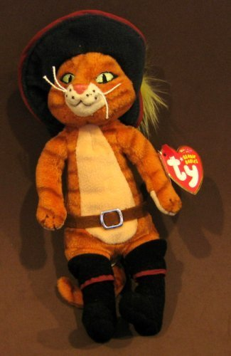 3d946e00f6e TY Beanie Baby - PUSS IN BOOTS the Cat (DVD Exclusive) by Original Ty