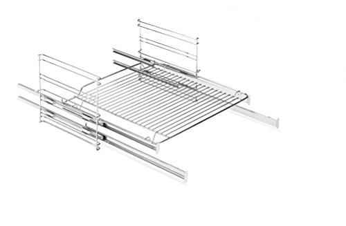 Amica 83 Four et accessoires de cuisson/plaque de cuisson/plaques de cuisson/exclusivement pour le four encastrable EBS 13530 / Grille latérale avec 2 extracteurs télescopiques