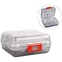 Preisvergleich für Pillendose Pillenbox, Yisscen Beweglicher Medikamentendosierer Tablettenbox mit 7 Fächern, Ideal für Reise-Tabletten-Pillen...