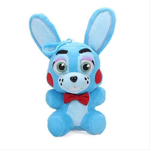 Bonnie Blue Stoffen (ASDFF Plüschtier weich und bequem Plüschtier Puppe Stofftiere für Kinder Geburtstagsgeschenk blau Bonnie)