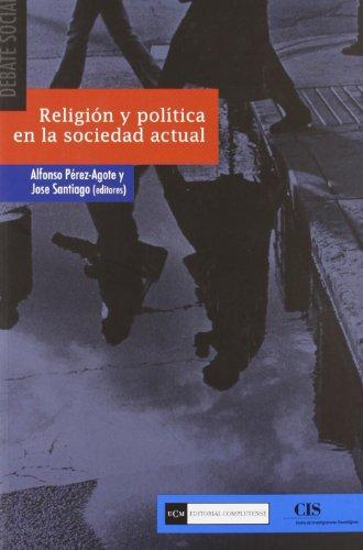 Portada del libro Religión y política en la sociedad actual (Debate social)