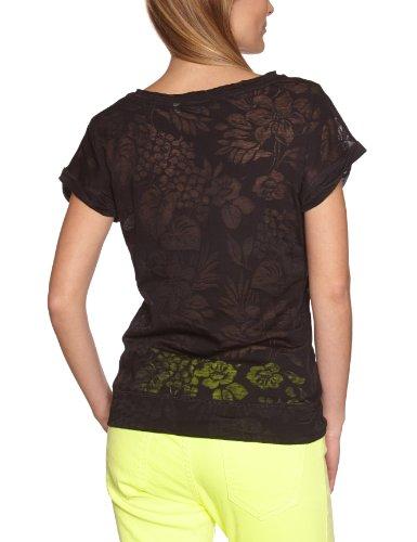 Roxy - T-Shirt - Femme Noir (Trb Hawaiian An)