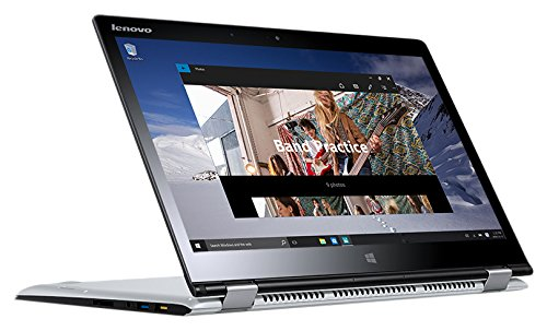 "Lenovo Yoga 710-14ISK 2.3GHz i5-6200U 14"" 1920 x 1080Pixel Touch screen Argento Ibrido (2 in 1)"