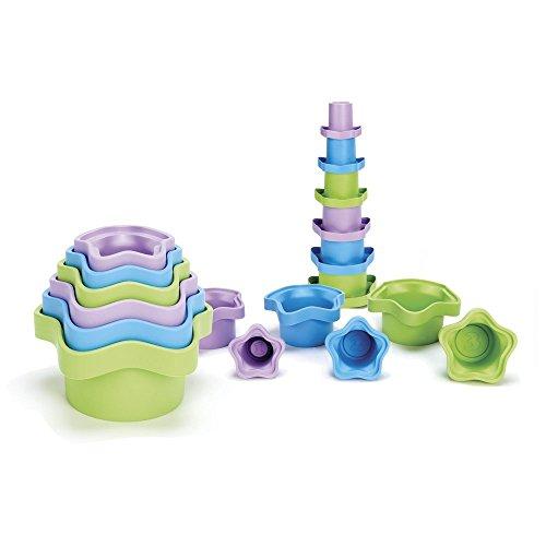 Green Toys - Cubos para apilar (STCA-8586)