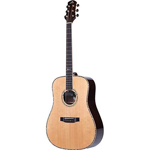 North King Balada de Guitarra acústica 53 Pulgadas Abeto Solo Junta Guitarra Adultos Instrumentos de la música