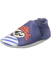 Robeez Jolly Peg, Chaussures de Naissance Bébé Garçon