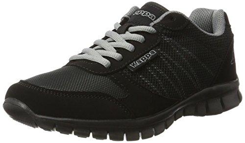 Kappa Unisex-Erwachsene Stay Sneaker, Schwarz (1111 Black), 38 EU