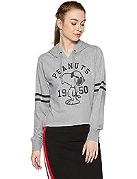 Peanuts by Free Authority Women's Cotton Sweatshirt