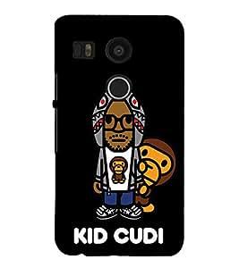 EPICCASE kid cudi Mobile Back Case Cover For LG Google Nexus 5X (Designer Case)