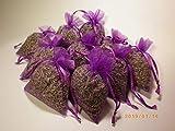 10 Organza- Lavendelsäckchen gefüllt mit echten Französischen Lavendel aus der Provence je 10g