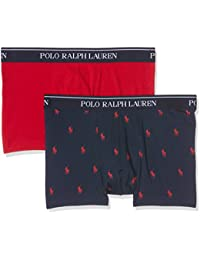 Polo Ralph Lauren 2 Pack Trunk, Short Homme, Bleu, (lot de 2)