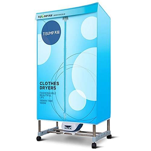 Clothes dryer Secadora de 1200 vatios, Almacenamiento Plegable doméstico, Secadora silenciosa de Ahorro de energía, Secadora de Ropa de Secado rápido
