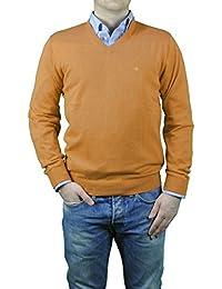 Redmond - Herren Pullover mit V-Ausschnitt aus reiner Baumwolle in verschiedenen Farben (600)