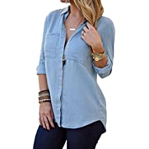 Suchergebnis auf f r jeanshemd damen lang for Jeanshemd damen lang