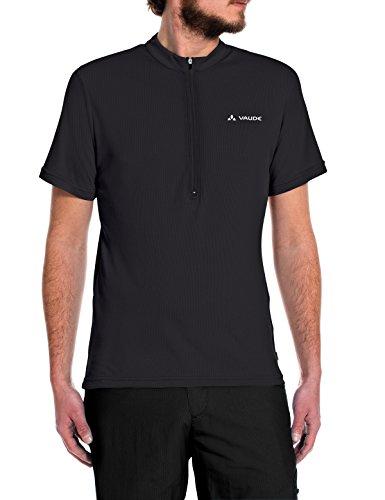 VAUDE Herren Trikot Men's Brand Tech Shirt, Black, S, 05691