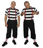 Kostüm, Tweedle-Dee und Tweedle-Dum aus Alice im Wunderland, lustige Zwillinge Gr. S, schwarz