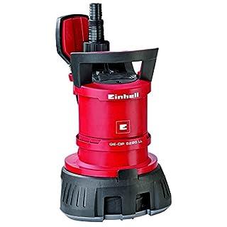 Einhell Schmutz- und Klarwasserpumpe GE-DP 5220 LL ECO (520 W, 13500 l/h, max. Förderhöhe 7,5 m, Fremdkörper bis 20 mm, Schwimmerschalter)