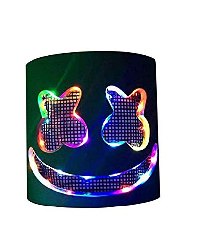 Deadmau5 Kostüm Halloween - DJ LED Maske Party Musikfestival Leuchten