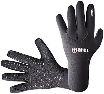 Mares Flexa Classic 3 mm - Guantes de buceo unisex, color negro