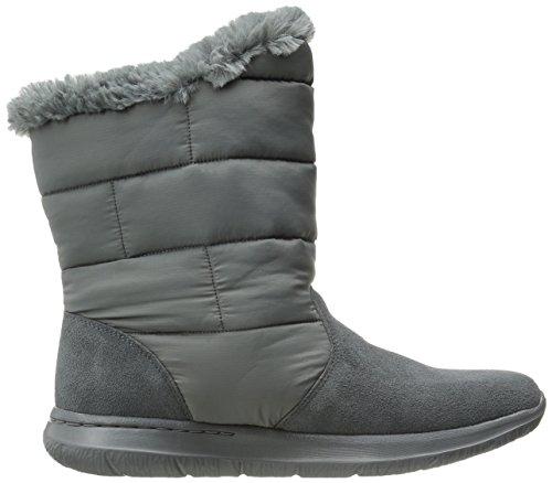 Skechers prestazioni Go città a piedi inverno Boot Charcoal