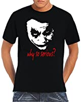Touchlines Men's T-Shirt Joker - Why So Serious?