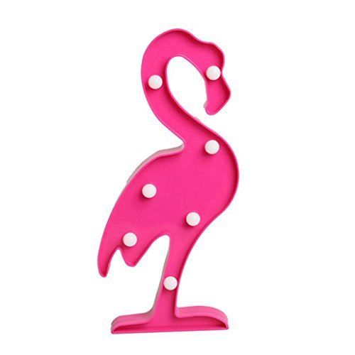 Flamingo Lampe Dekoration Mädchen Zimmer Layout Foto Requisiten Lampe Schlafzimmer dress up Tischleuchte (Flamingo Up Dress)