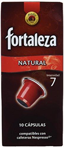 Nespresso compatible - Café Fortaleza Natural - 10 cápsulas [Pack de