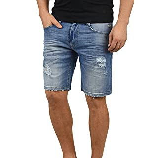 Blend Deno Herren Jeans Shorts Kurze Denim Hose Mit Destroyed-Optik Aus  Stretch-Material 5791178a16