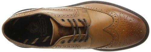 Base London Woburn, Chaussures de ville homme Marron (Tan Waxy)