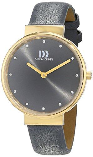 Danish Design 3320196 - Orologio da polso Da Donna, Pelle, colore: Antracite