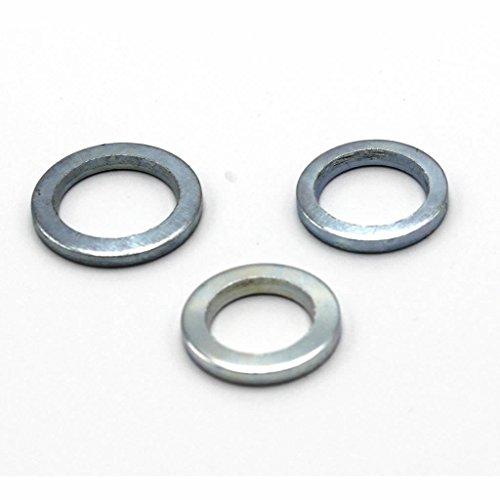 30 Stück Fitschenringe RN 324 Stahl verzinkt gemischt Sortiment Ø 10,2/11,2/12,2 mm