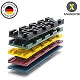 INNONEXXT® Premium Bloques de acristalamiento | 24 x 100 mm, 400 unidades | Made in Germany | distanciadores, espaciadores, cuñas de plástico | espesores: 1, 2, 3, 4, 5, 6 mm