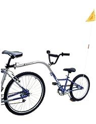 """Barracuda Remorque vélo pour enfants 1 vitesse Bleu 20"""""""