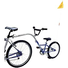 Barracuda Trailer-Bike Nachläufer, 1 Gang, klappbar, 20 Zoll, blau