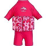 Konfidence FloatMaillot de bain Bouée intégrée Entraînement de natation, Float, Rose (Pink/Hibiscus)