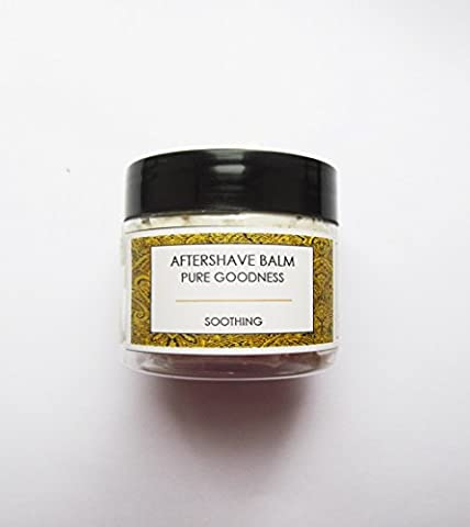Shea Butter AFTERSHAVE BALM 50ml with Frankincense and Patchouli . Gentle and Pure suitable for all skin types. Paraben free