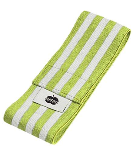 erdbeerloft Brotzeit- Band Stretchband Lunchbox Brotdose mit Streifen gestreift, Grün