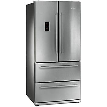 Smeg FQ55FXE Kühlschrank Side-Kühlschrank – Kühlschrank ...