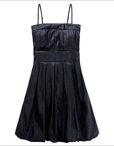 Molly Aux Femmes Magnifique Lanterne Artisanal Draper Robe De Soirée Noir