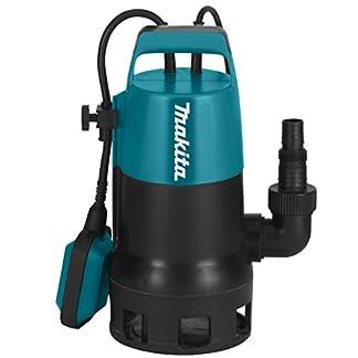 41Khx 8O%2BmL. SS324  - Makita PF0410 - Bomba sumergible eléctrica (aguas residuales con partículas de 35 mm, 400 W) [Importado de Alemania]