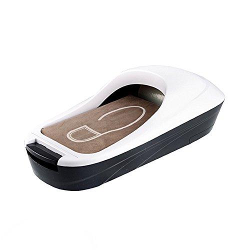 ZZHF Machine de Couverture de Chaussure Machine de Pied Automatique Machine de Pied de Film de Pied Boîte de Couverture de Chaussure jetable Blanc 58 * 28cm Cireuse