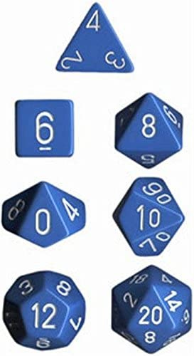Polyhedral Light Dice: Opaque Light Polyhedral Blue B077C44QSG 4b6be0